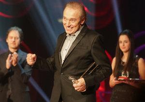 Karel Gott vyhrál 40. Zlatého slavíka!