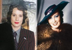 Herci ve velkofilmu Lída Baarová jsou svým předobrazům neskutečně podobní.