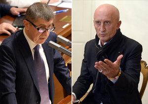 Andrej Babiš je pro vyšší zdanění hazardu. Senátor Ivo Valenta proti.