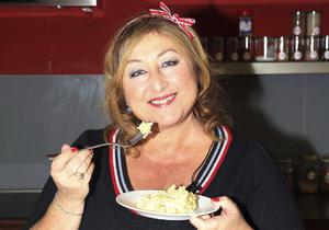 Halina Pawlowská prozradila rodinný recept na bramborový salát