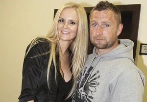 Lucie Hadašová s manželem Jardou Bednářem
