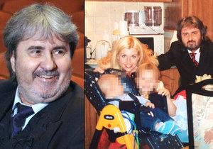 Poté co si Marek Dobrodinský postěžoval, že nevídá syna, ozvala se jeho exmanželka, zpěvačka Gábina Goldová. Prý je všechno jinak, a její bývalý navíc na děti neplatí alimenty.