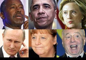 """Tyhle """"perly"""" světoví politici vypustili do světa v roce 2015."""