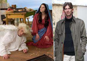 Režisér Strach se raduje, Anděl páně dostal nový kabátek.