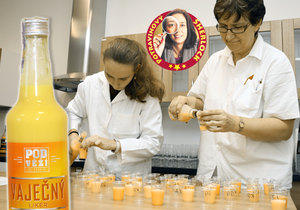 »Vaječňák« ztratil chuť i barvu. Podle testu spotřebitelů byly testované vaječné likéry moc lihové a ztratily vanilkovou příchuť. U jednoho dokonce cítili připálenou chuť.
