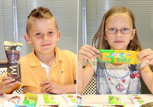 Komu jinému svěřit hodnocení zmrzlin než těm nejpovolanějším – dětem!