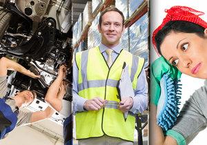 Minimální mzda se od ledna zvyšuje všem skupinám profesí.