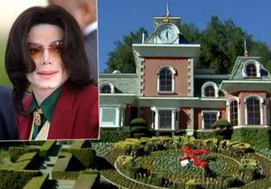 Podívejte se na ranč Neverland zesnulého zpěváka Michaela Jacksona. Nyní je na prodej za 100 milionů.