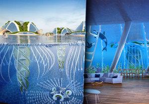 Návrh vodního města architekta Callebauta