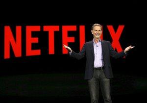 Zakladatel služby Netflix Reed Hastings