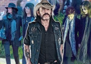 Na pohřeb Lemmyho dorazily i takové hvězdy jako Slash či Ozzy Osbourne.
