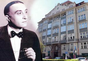 Překrásný byt, kde až do své smrti bydlel slavný prvorepublikový herec Oldřich Nový (†83), nyní ožívá.