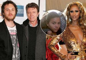 David Bowie odkázal své jmění manželce a dětem.
