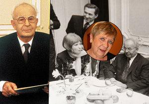 Jaroslava Obermaierová kdysi povečeřela s prezidentem Gustávem Husákem (†78). Dokonce hned dvakrát!