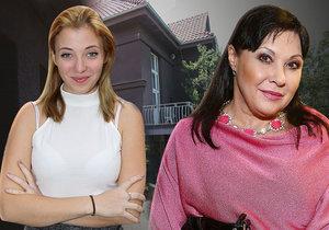 Dcera Dády Patrasové a Felixe Slováčka Anička vyměnila dusné prostředí vily za nový domov.