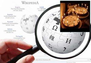 Největší internetová encyklopedie světa slaví 15. narozeniny. Na české verzi vznikne každý den okolo 80 nových hesel.
