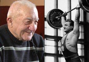 Zdeněk Srstka se i ve svém věku snaží denně cvičit.