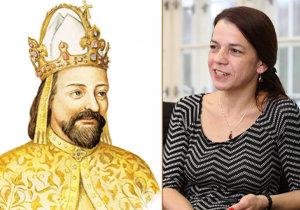 Historička Eva Doležalová trdí, že Otec vlasti Karel IV. holdoval alkoholu, byl nevěrný svým ženám, a dokonce korumpoval.