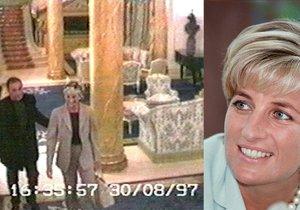 Princezna Diana v hotelu Ritz Carlton těsně před svou smrtí