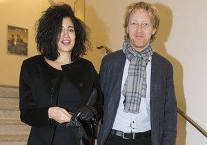 Karel Janeček se svou manželkou Mariem