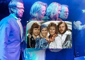 Agnetha Fältskog, Björn Ulvaeus, Benny Andersson a Anni-Frid Lyngstad znovu spolu