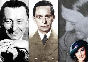 Osudoví muži Lídy Baarové! Krásné herečce nepodlehl jen Joseph Goebbels.