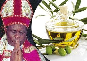Gilbert Deya prodával olivový olej jako zázračný lék.