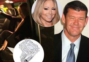 "Zpěvačka Mariah Carey řekla ""ano"" australskému miliardáři."