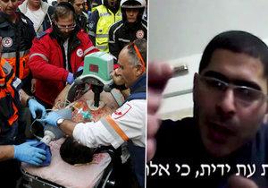 Islamista na videu vyhrožoval útokem v Tel Avivu, který později skutečně spáchal.