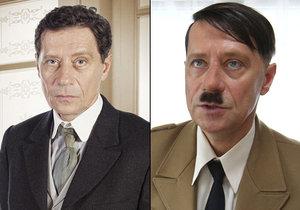 Pavel Kříž si ve filmovém trháku Filipa Renče zahrál Adolfa Hitlera.