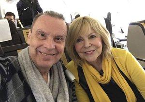 Hana Zagorová a Štefan Margita odletěli do Dubaje.