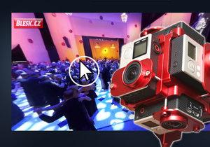 Blesk.cz poodhalil, jak vznikalo unikátní 360stupňové video z Plesu v Opeře.