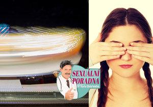 Dita oslepla při spermiové centrifuze. Co jí navrátí zrak?