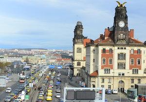 Wilsonova ulice v Praze