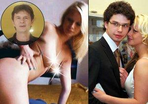 Bývalá snacha herce Jana Šťastného tvrdí, že se už pornem neživí.