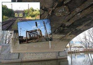 Velmi špatný až havarijní stav má v Praze 23 mostů. Nejhůř je na tom Libeňský most.