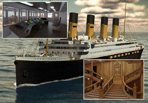Věrná kopie legendárního Titaniku vypluje už za dva roky!