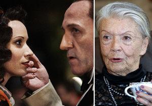 Herečka Zdenka Procházková, která v Renčově velkofilmu ztělesnila starou Lídu Baarovou, slaví narozeniny.