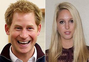 Princ Harry má zálusk na mladou řecko-dánskou princeznu.