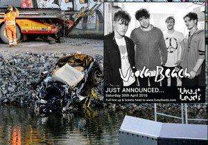 Členové britské kapely Viola Beach i se svým manažerem se během turné ve Švédsku stali oběťmi tragické autonehody.