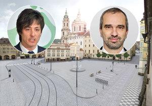 Matěj Stropnický zkritizoval poslance Váňu, kterému se nelíbí návrh Malostranského náměstí bez aut.