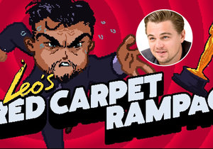 Leonardo DiCaprio se stal hrdinou nové hry.
