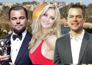 Izrael pozval na dovolenou oscarové celebrity.