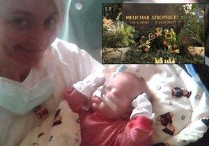 Veronika Žilková zavzpomínala na smrt svého syna Melichara.
