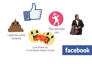 Lidé si utahují z nových smajlíků Facebooku a vymýšlejí nové.