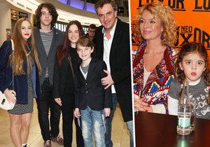 Tomáš Matonoha s Lucií Benešovou vyvedli všechny své děti.
