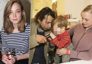 Exmanželka Pavla Lišky se znovu vdala a stihla už i dítě.