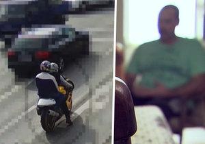 Expolicista Martin zasáhl při přepadení v Uherském Hradišti a zabránil tragédii: Lupiči mi prostřelili nohu