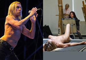 Iggy Pop zapózoval úplně nahý.