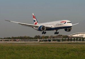Boeing 787 Dreamliner společnosti British Airways